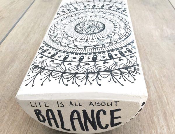 Balance Board Mandala