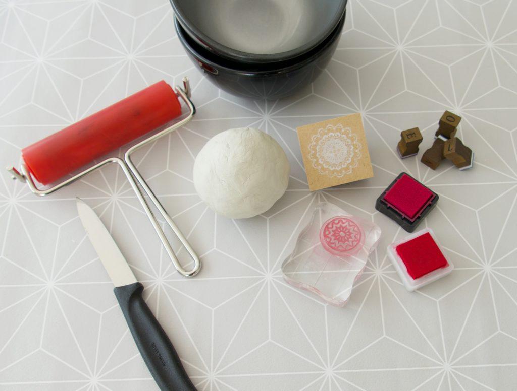 Schmuckschale selber machen Material
